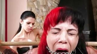 Karina cruels lesbian bdsm of latina slave girl Ca
