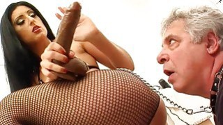 Brunette Mistress Gets Ass Licked