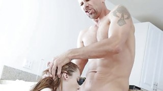 Karlie Brooks goes cock riding on top