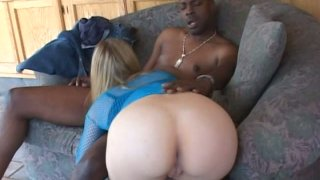 Big black guy eats Kayla Marie and makes her suck his cock deep