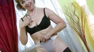 OldNannY Hot Horny Grandma Seductive Striptease