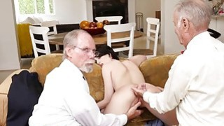 Alex Harper fucked in her pussy and ass